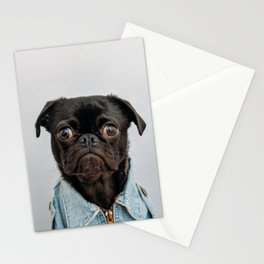 Pug Got Style Stationery Cards