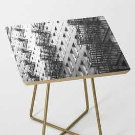 Chicago fire escapes Side Table