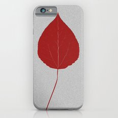 Leafs rouge iPhone 6s Slim Case