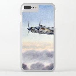 Mosquito De Havilland Aircraft Clear iPhone Case