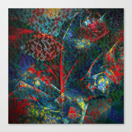 Fractal Flower Canvas Print