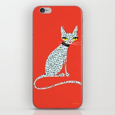 Wild House Cat iPhone & iPod Skin