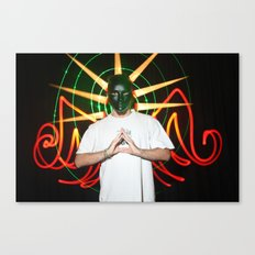 the light mask Canvas Print