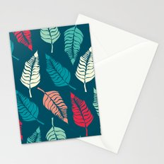 Leave Me Indigo Multi (Aqua Red) Stationery Cards