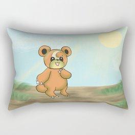 Teddiursa Rectangular Pillow