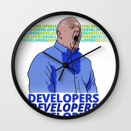Steve Ballmer: Developers Developers! Wall Clock