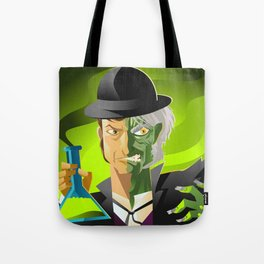 doctor jekyll and mister hyde monster tranformation with green potion Tote Bag