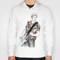 coconutwishes Hoodies featuring Floral Niall by Coconut Wishes