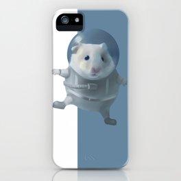 Hamster Astronaut iPhone Case