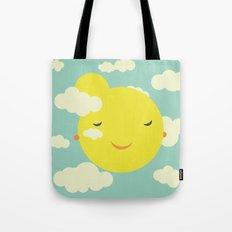 sunshine in clouds Tote Bag