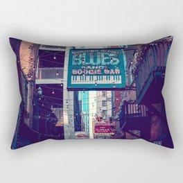 Historic Printer's Alley Nashville Tennessee Rectangular Pillow