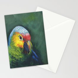 "Parrot portrait""Truman of the Amazons"" Stationery Cards"