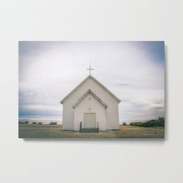 Sacred Heart Catholic Church, Riverside, MT Metal Print