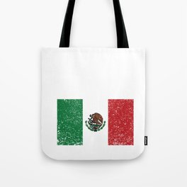 Mexican National Flag Vintage Mexico Country Gift Tote Bag