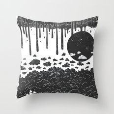 Topsy Turvy  Throw Pillow