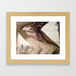 Warped Framed Art Print
