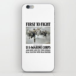 First To Fight -- US Marine Corps iPhone Skin
