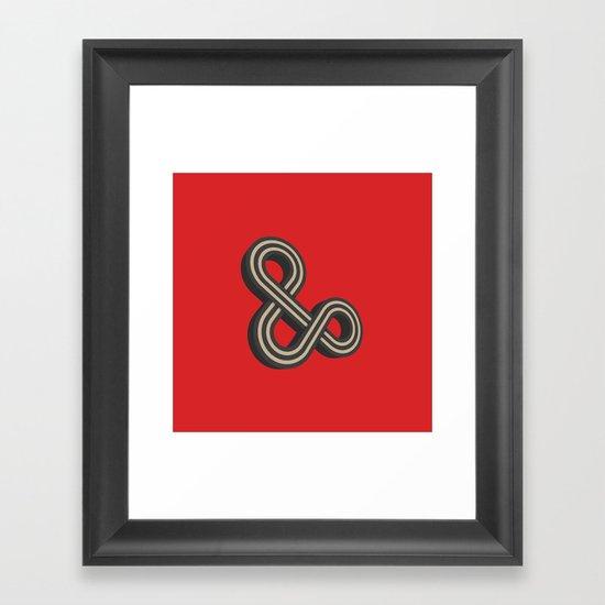 Forever & Ever Framed Art Print