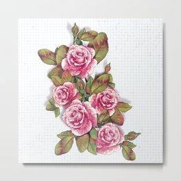 Roses are... Metal Print