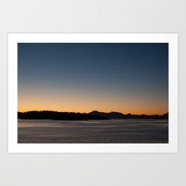 Patagonia Sunset Art Print