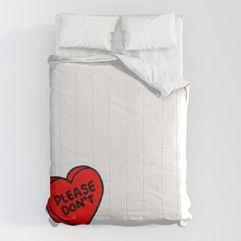 Conversations over Comforters