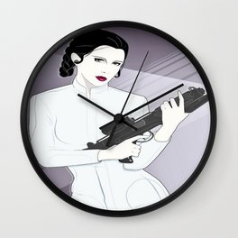 Power Princess Wall Clock