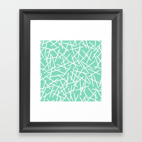 Kerplunk Mint Framed Art Print