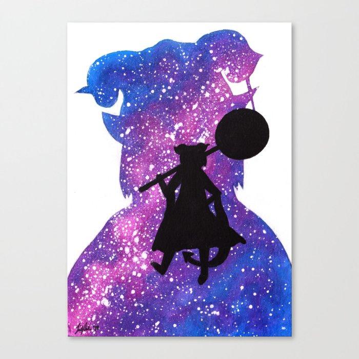 Cosmic Jester Canvas Print