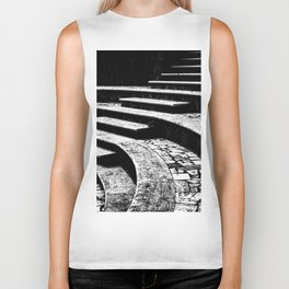 Stairs and curves Biker Tank