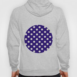 Polka Dot Madness, Navy Hoody