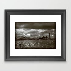 Lost Industry Framed Art Print