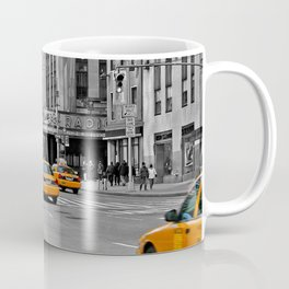 NYC - Yellow Cabs - Music Coffee Mug