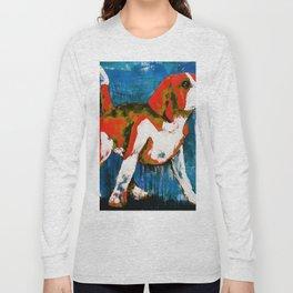 Orange Puppy Long Sleeve T-shirt