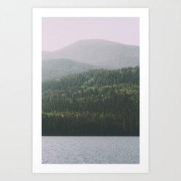 Grande Cache Lake, AB Art Print