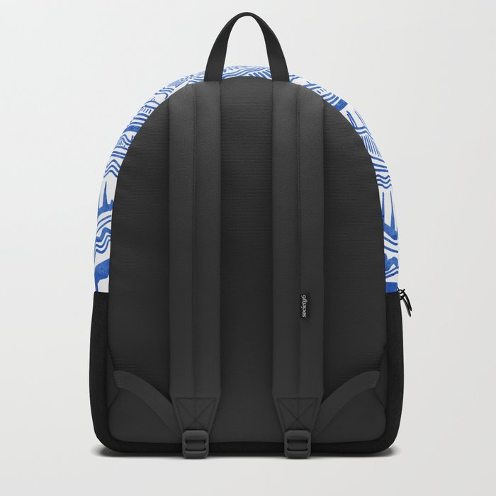 Growth Rings – 65 Years – Navy Backpack