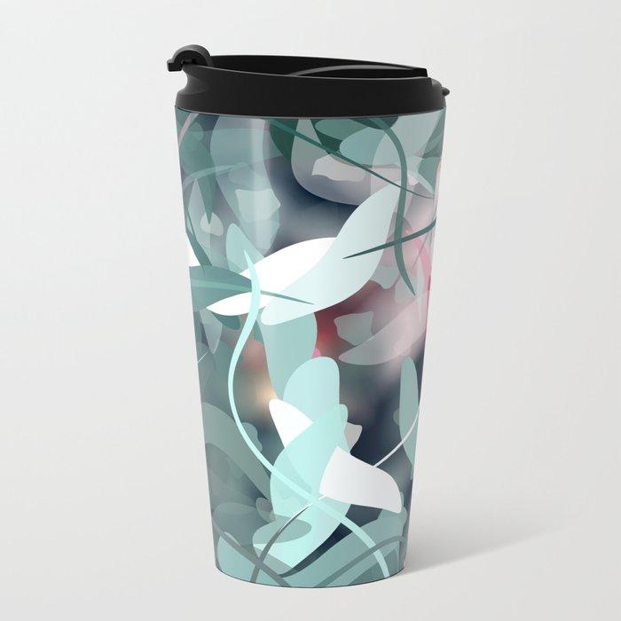 Spring Birds Metal Travel Mug