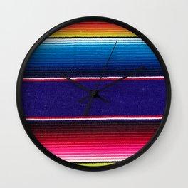 Serape of Mexico Wall Clock