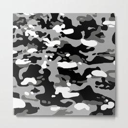 Military Camouflage: Urban I Metal Print