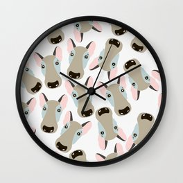 Dog therapy. Wall Clock