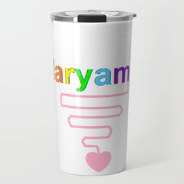 Maryam Travel Mug