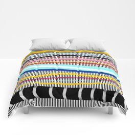 Bold stripes,breezy and beautiful,Striped Contemporary world's cute fashion Comforters