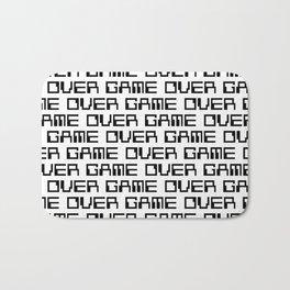 Game Over Bath Mat