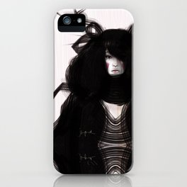 Princess Kim iPhone Case