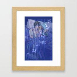 Sleeping In Framed Art Print
