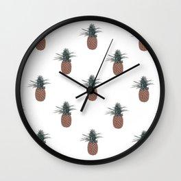 pineapple kush Wall Clock