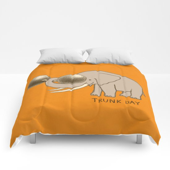Trunk Day Comforters