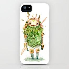 Green Samurai iPhone Case