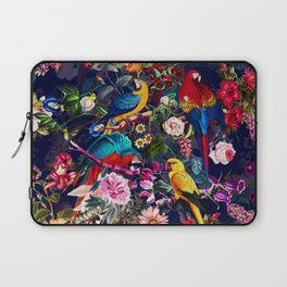 Floral and Birds XLV Laptop Sleeve