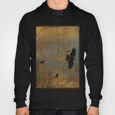 A Vintage Flight Of The Crows Hoody