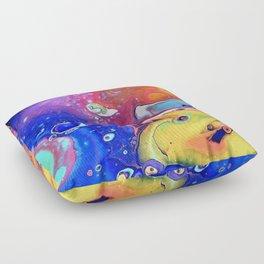 Wild and Crazy Art Flow Floor Pillow